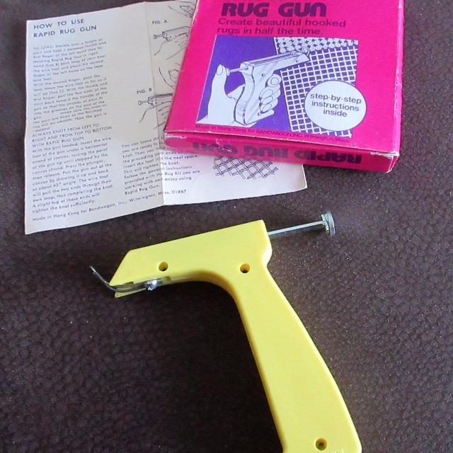 rapid rug gun instructions