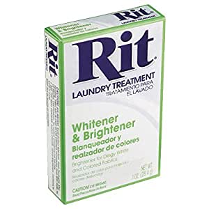 rit whitener and brightener instructions