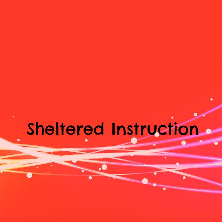 sheltered english instruction model