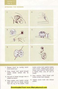 singer sewing machines instruction manual free 6212c