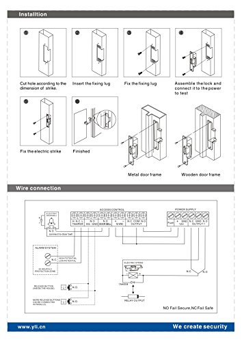uhppote ansi standard heavy duty electric instruction